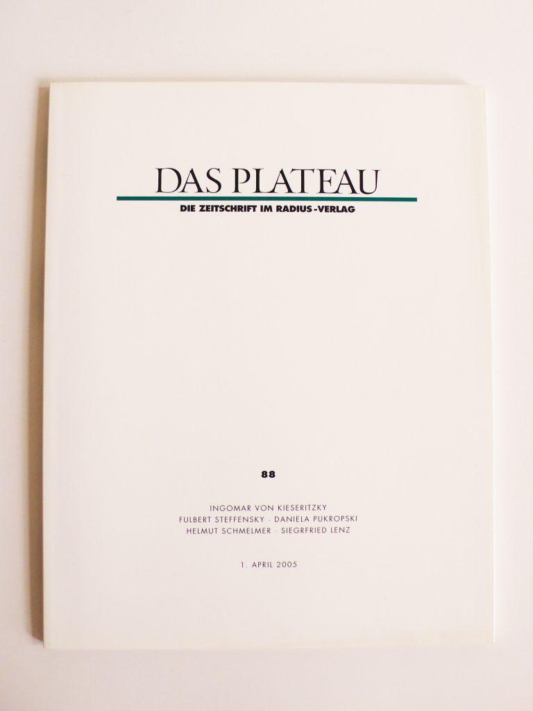 Plateau Nummer 88